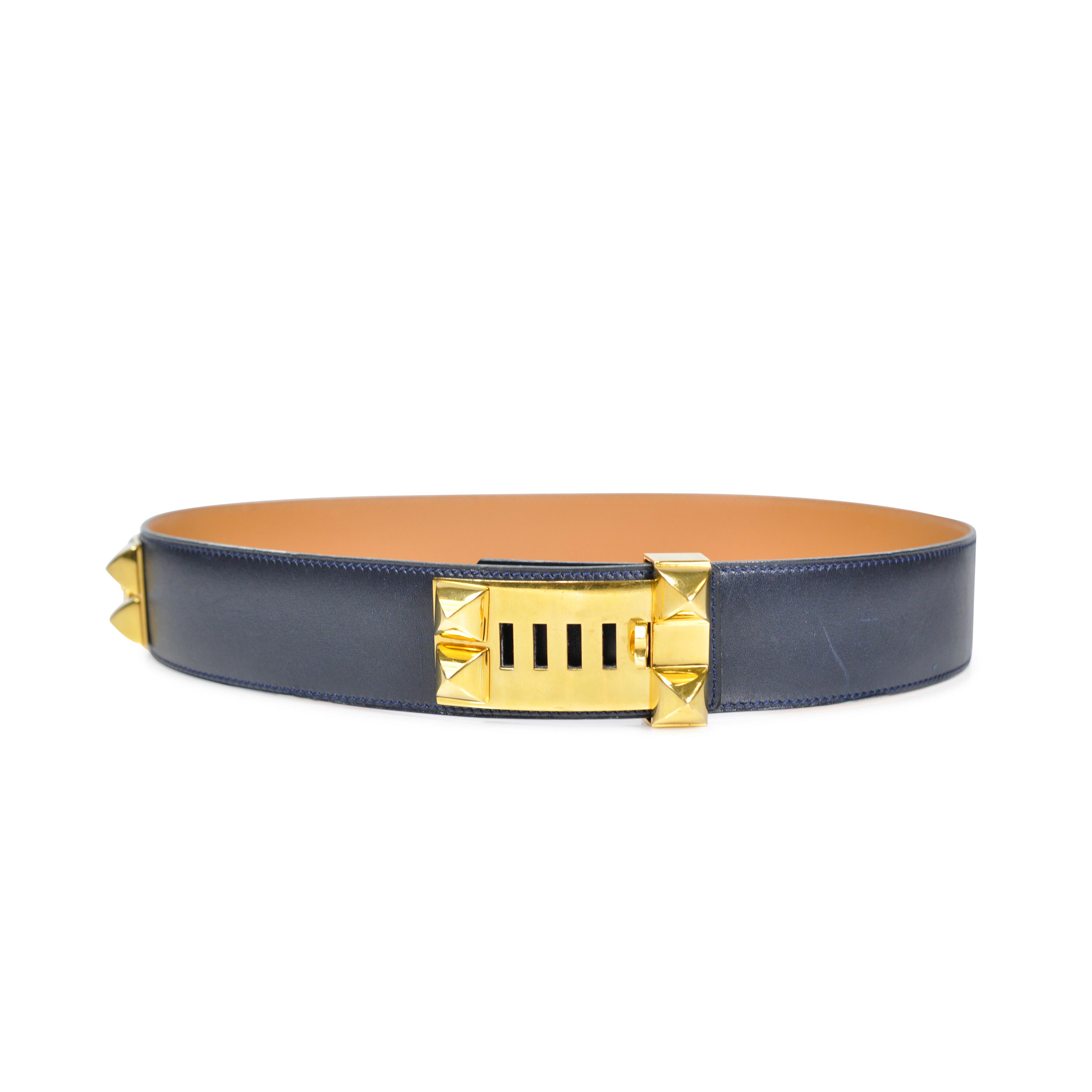acfd14a211e Authentic Vintage Hermès Médor Belt (TFC-101-00036)