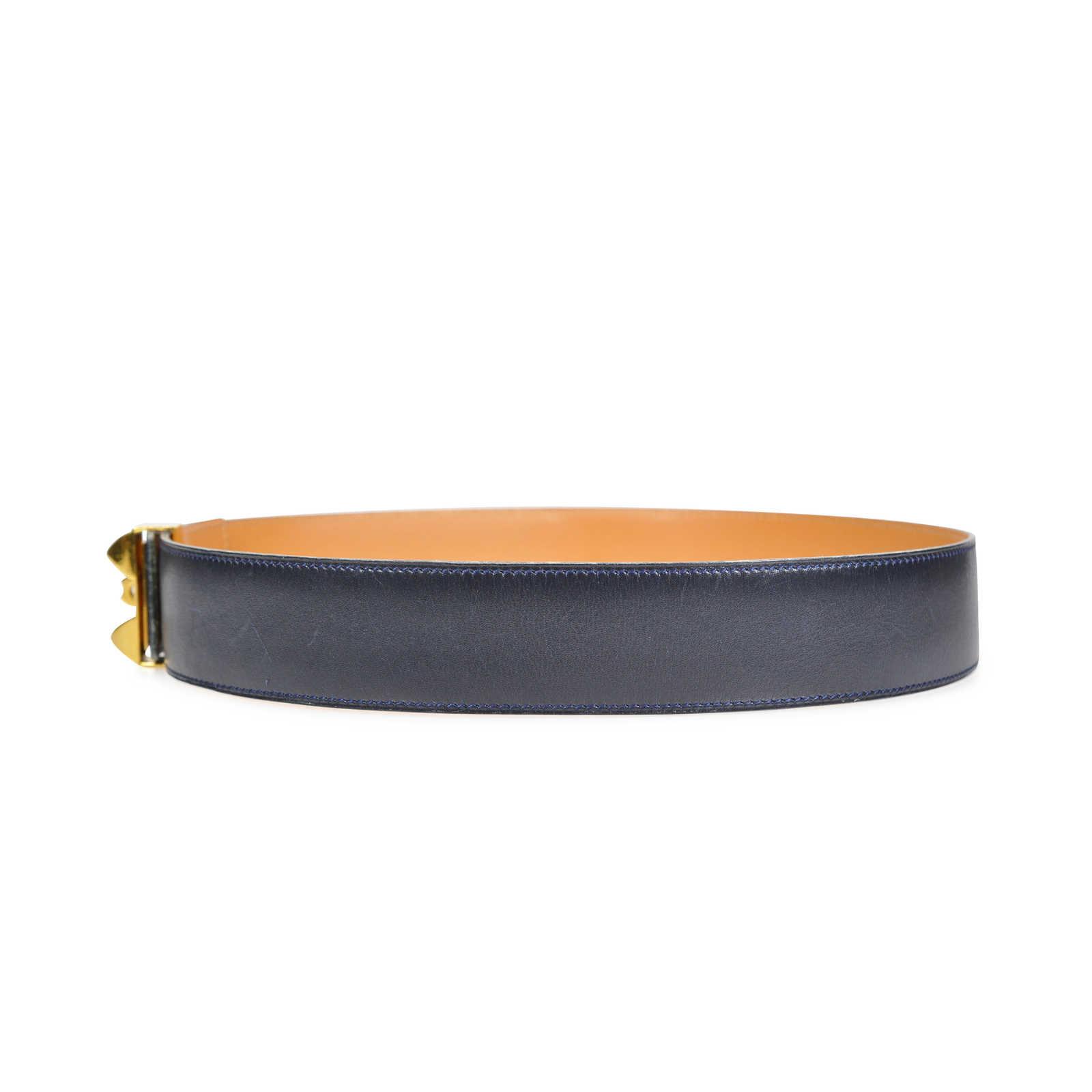 d3af1855da ... Authentic Vintage Hermès Médor Belt (TFC-101-00036) - Thumbnail 1 ...