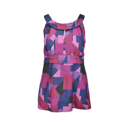 Authentic Second Hand Marc by Marc Jacobs Geometric Printed Top (PSS-054-00055)