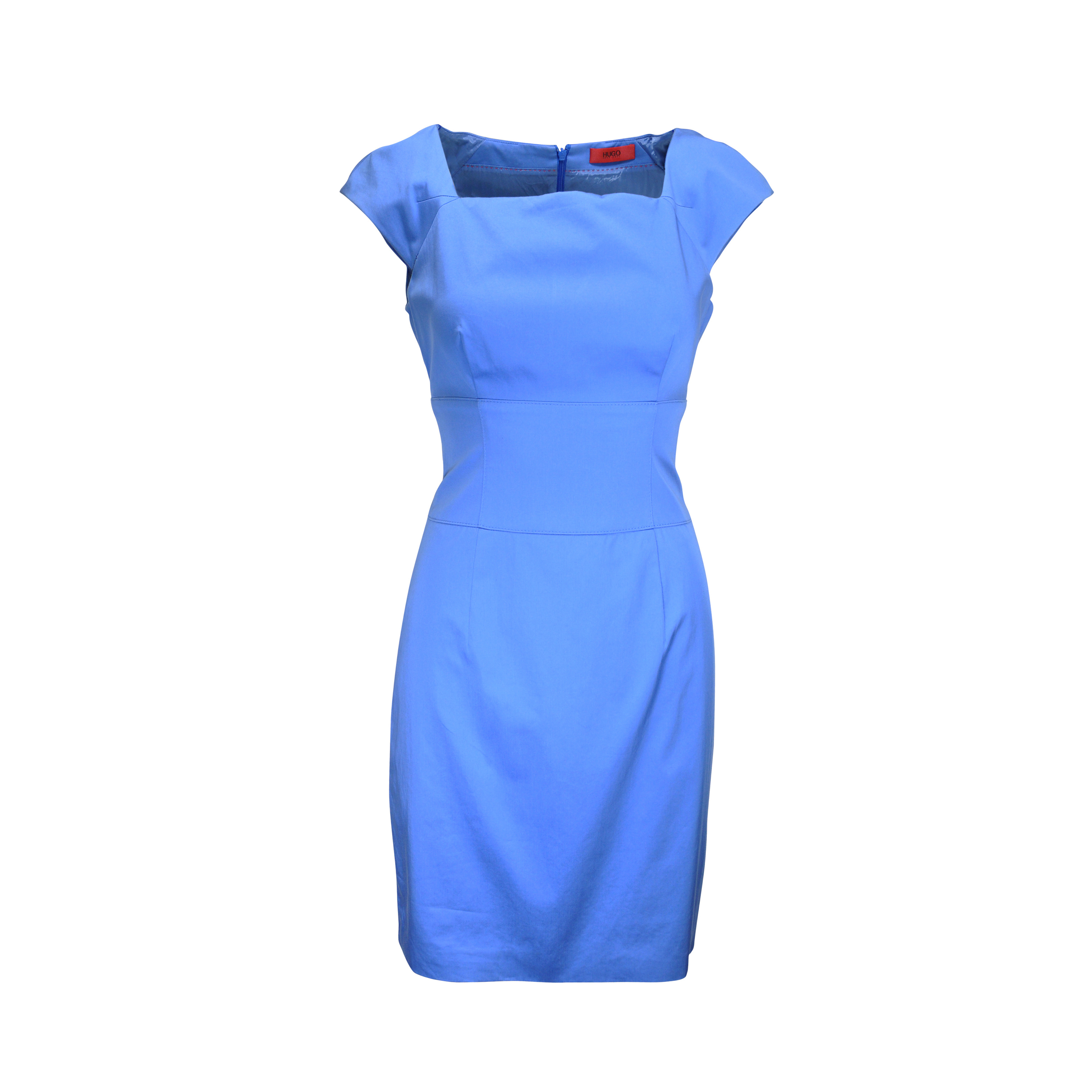 5f81bb54 Authentic Second Hand Hugo Boss Light Blue Sheath Dress (PSS-061-00007) -  THE FIFTH COLLECTION