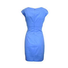 Hugo boss light blue sheath dress 3