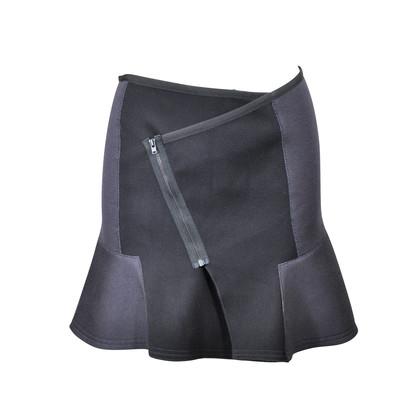 Authentic Second Hand The Kooples Neoprene Scuba Skater Skirt (PSS-061-00008)