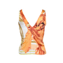 Authentic Second Hand Roberto Cavalli Silk Blouse with Tie Front (PSS-071-00046) - Thumbnail 2