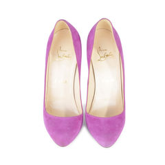 Declic 120 Suede Pumps