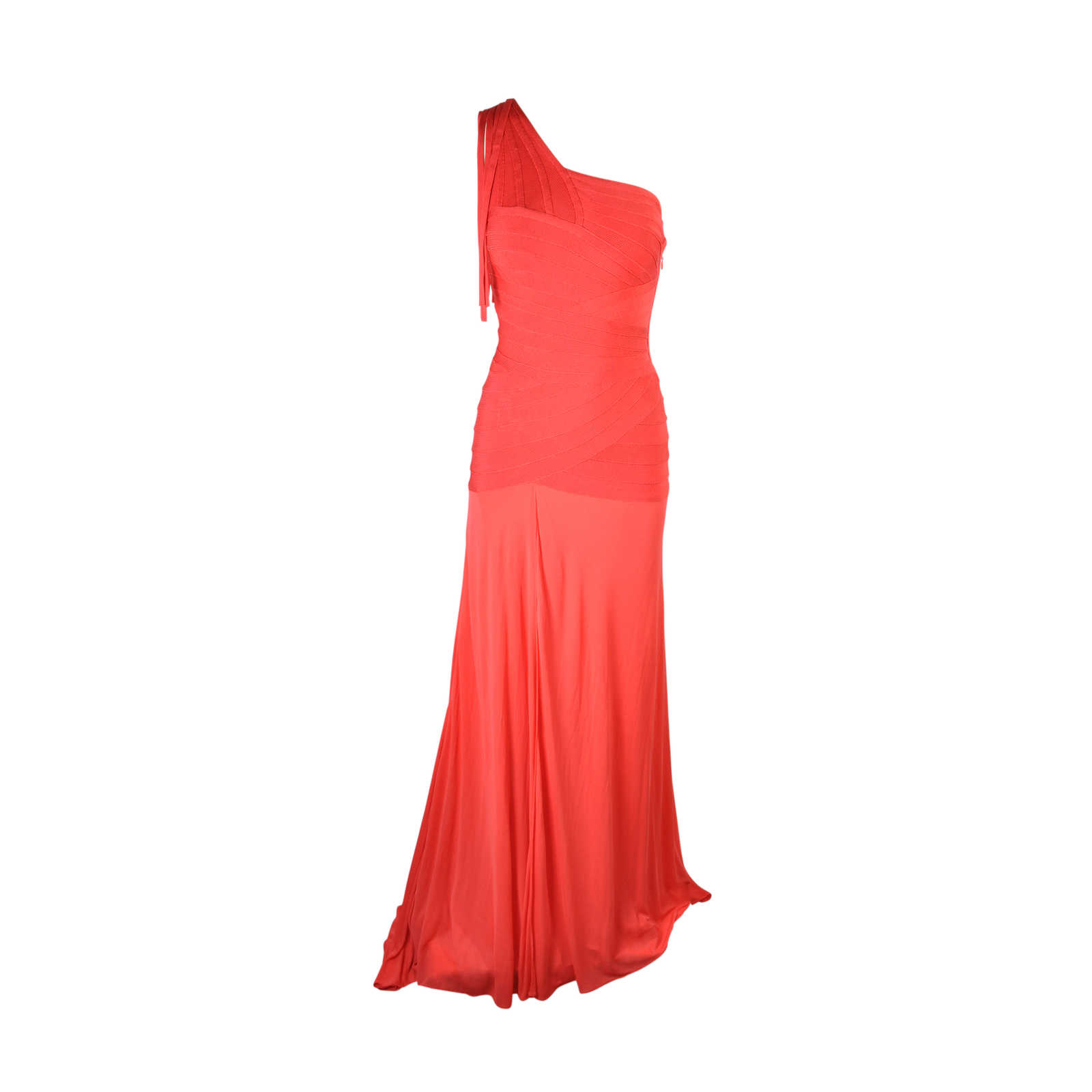 Second Hand Herve Leger Toga Gown   THE FIFTH COLLECTION