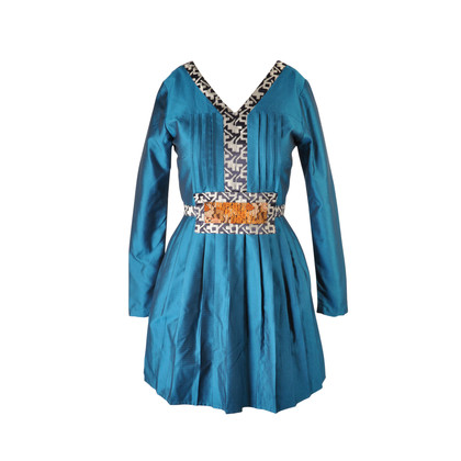 Authentic Second Hand Ong Shunmugam Tan Kim Seng Fountain Dress (PSS-077-00004)
