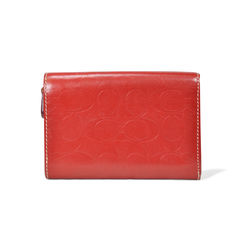 Coach monogram leather wallet 2