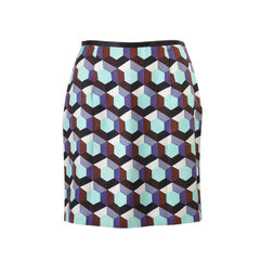 Graphic Skirt