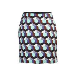Nicole miller grafic skirt 2