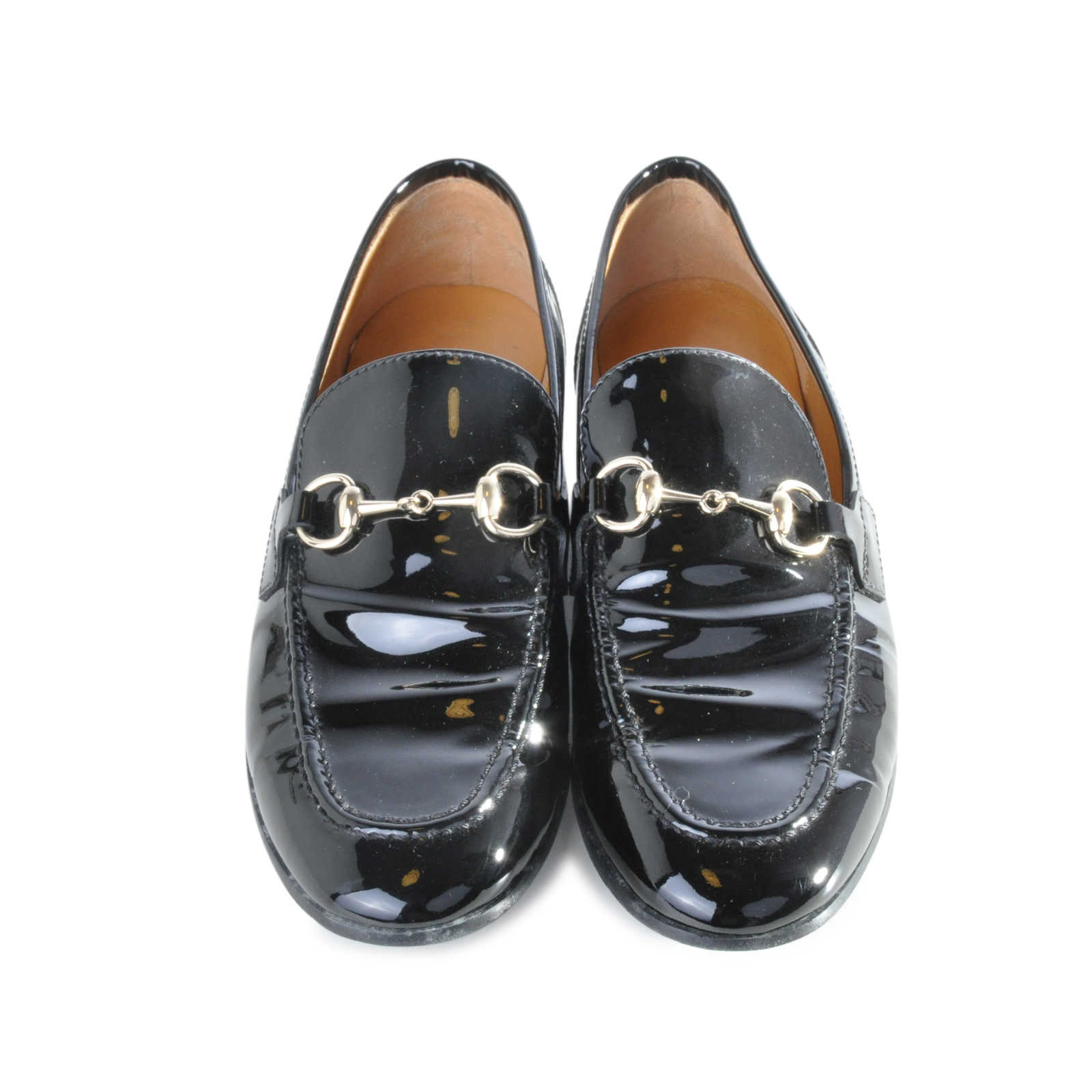 second hand gucci patent horsebit loafers the fifth collection. Black Bedroom Furniture Sets. Home Design Ideas