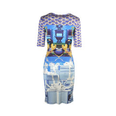 Mary katrantzou printed silk jersey dress 2