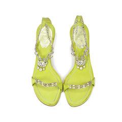 Rhinestone Strap heels