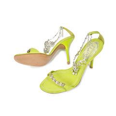 Rene caovilla rhinestone strap heels 2