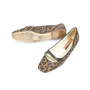 Authentic Second Hand Rupert Sanderson Leopard Print Flats (PSS-085-00017) - Thumbnail 2