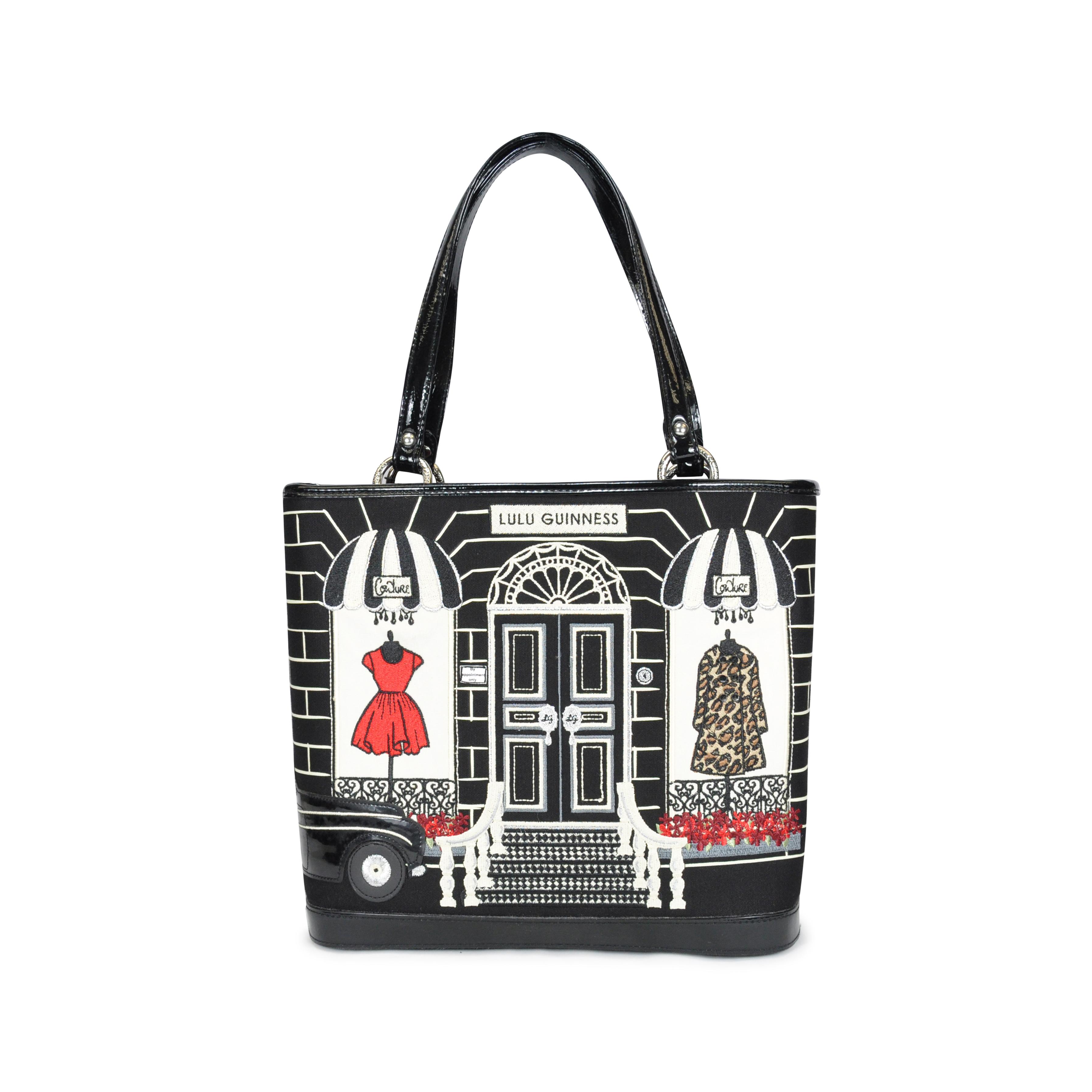 Authentic Pre Owned Lulu Guinness Souvenir De Paris Bag Pss 086 00002 The Fifth Collection