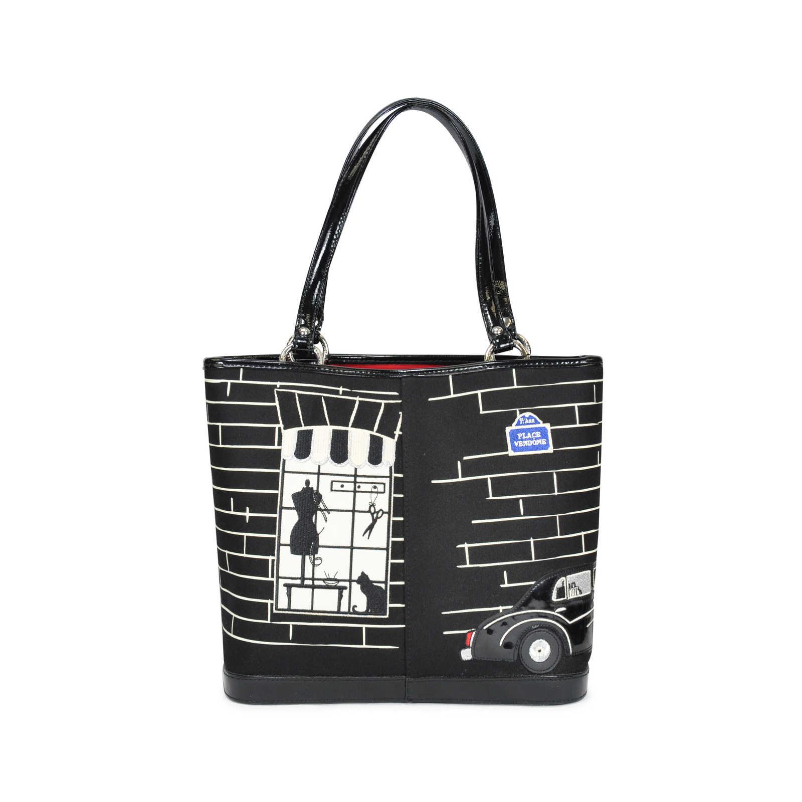 Authentic Pre Owned Lulu Guinness Souvenir De Paris Bag Pss 086 00002