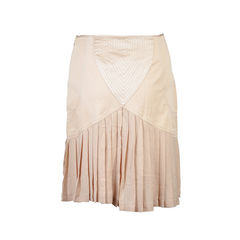 Catherine malandrino chiffon pleated skirt 2