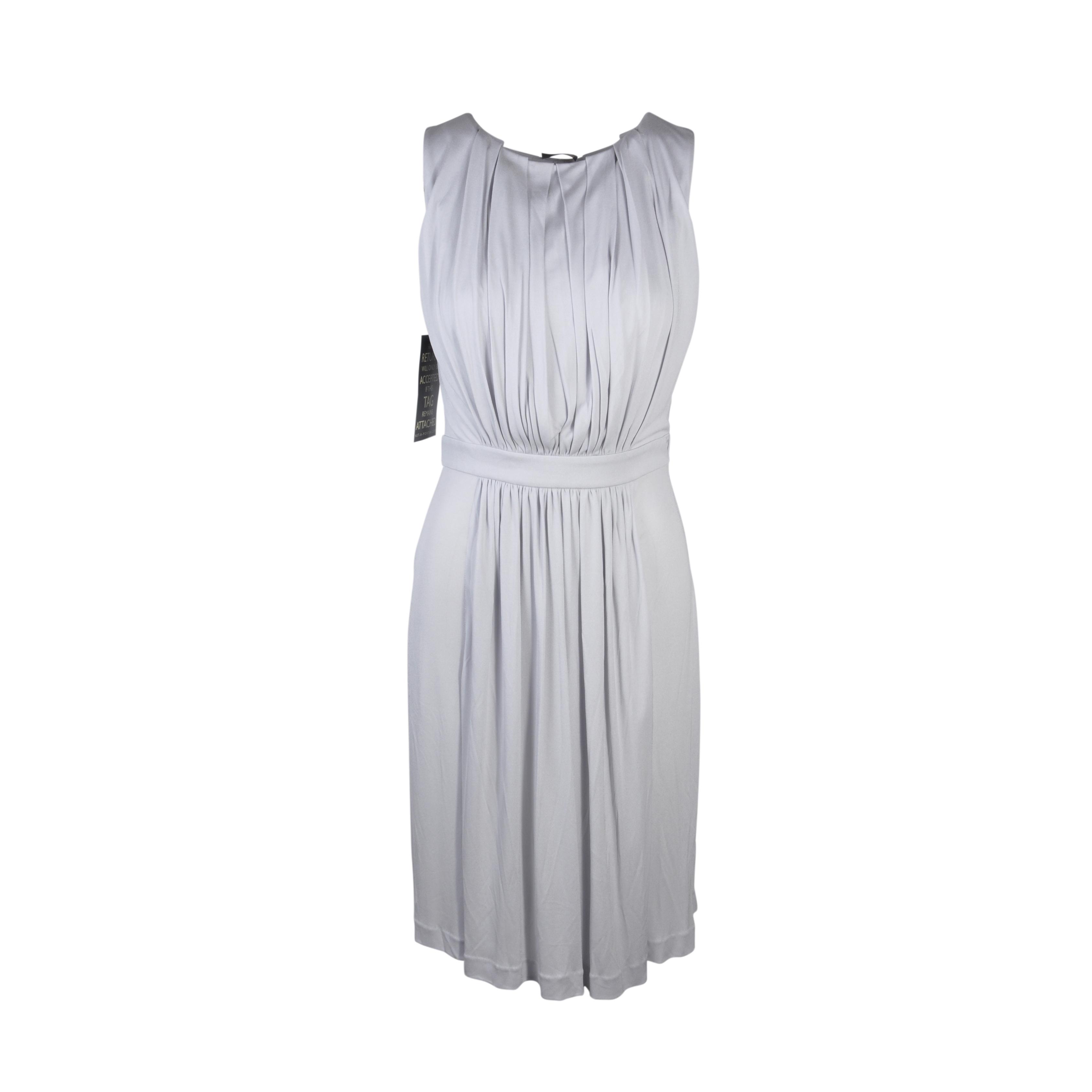 61883bb6cfcf6 Authentic Second Hand Fendi Draped Sleeveless Dress (PSS-074-00023 ...
