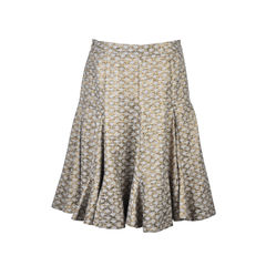 Matthew williamson golden skirt 2