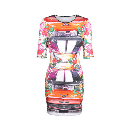 Clover Canyon Printed Sheath Dress