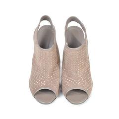Studded Slingback Heels