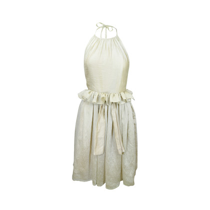 Authentic Second Hand Jayson Brunsdon Ruffle Waist Dress (PSS-086-00038)
