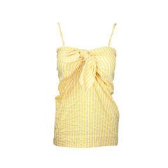 Yellow Tie Knot Top