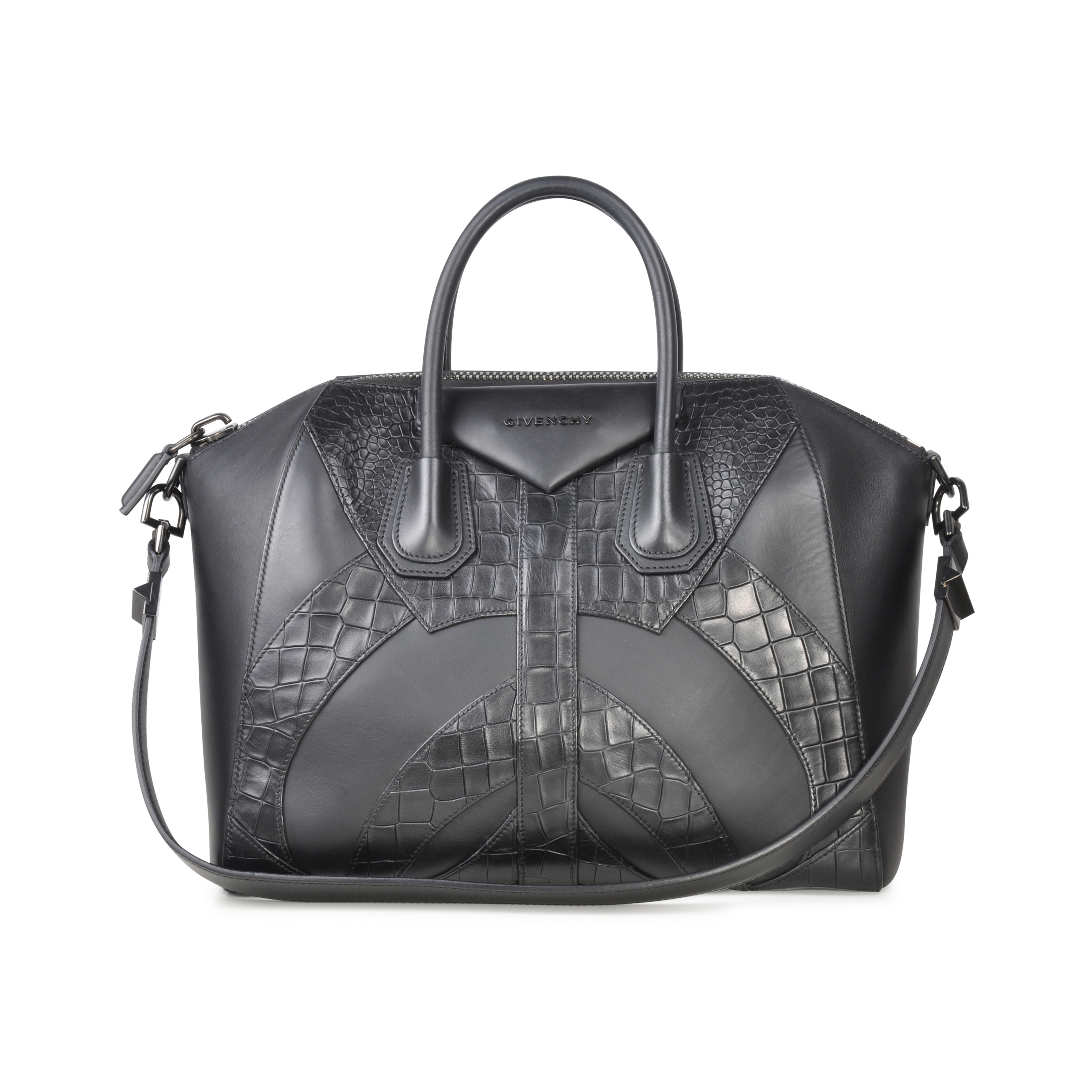 Authentic Pre Owned Givenchy Antigona Bag (PSS-073-00015)   THE FIFTH  COLLECTION® 0ed91126aa