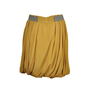Authentic Second Hand Chloé Mustard Flare Skirt (PSS-073-00007) - Thumbnail 1