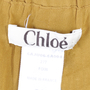 Authentic Second Hand Chloé Mustard Flare Skirt (PSS-073-00007) - Thumbnail 2