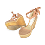 Authentic Second Hand Stella McCartney Wooden Wedges (PSS-106-00002) - Thumbnail 1