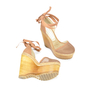Authentic Second Hand Stella McCartney Wooden Wedges (PSS-106-00002) - Thumbnail 2