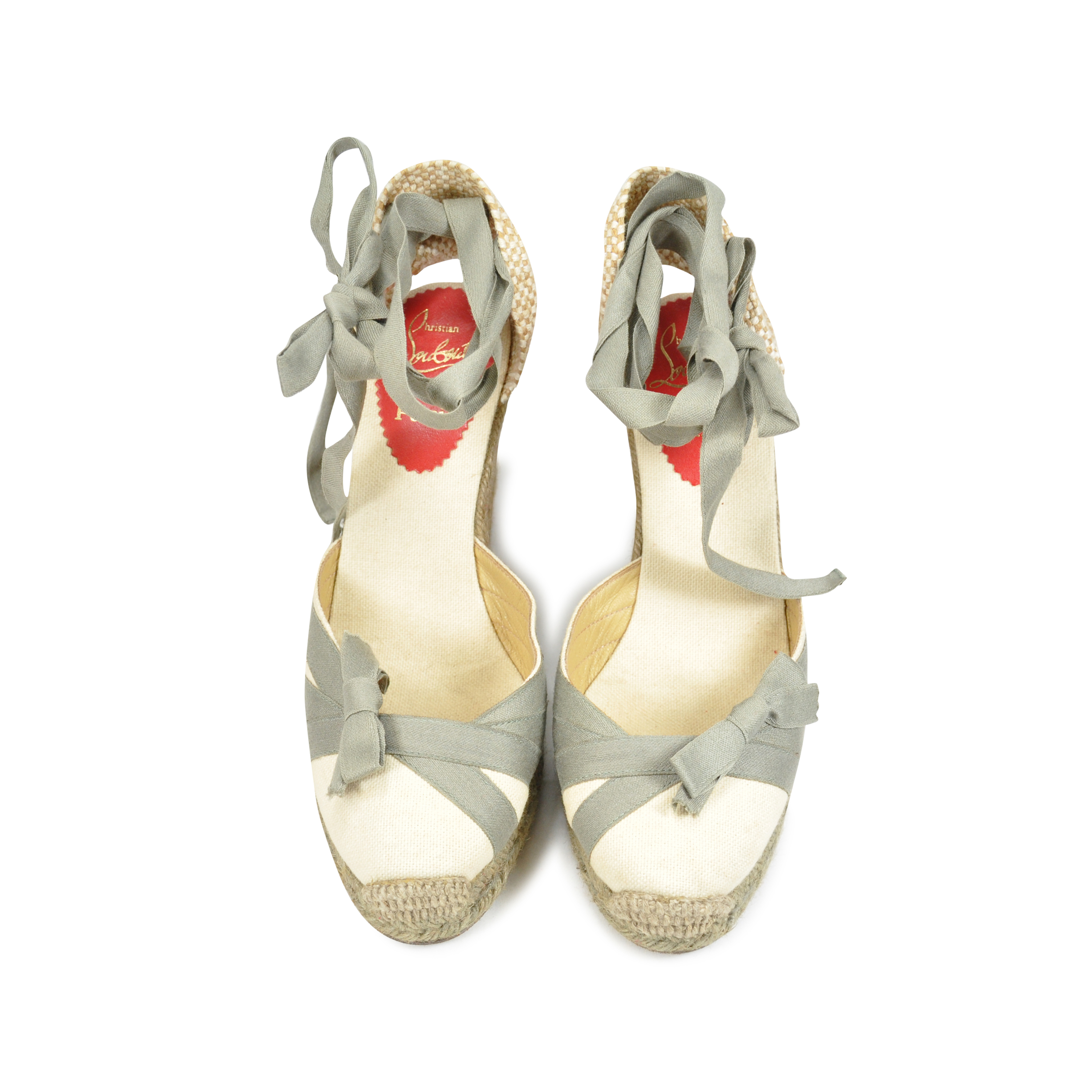ee5b51f99b36 Authentic Second Hand Christian Louboutin Espadrilles (PSS-073-00023 ...