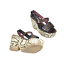 Authentic Second Hand Antonio Marras Snakeskin Print Wedges (PSS-073-00029) - Thumbnail 2