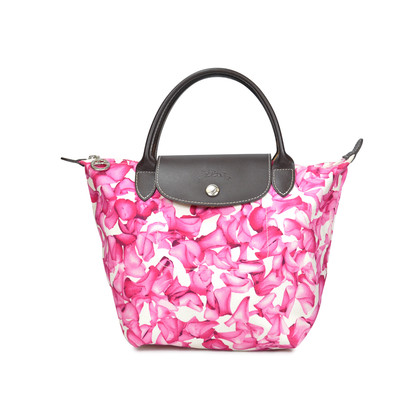 Authentic Second Hand Longchamp Darshan Floral Small Tote (PSS-099-00002)