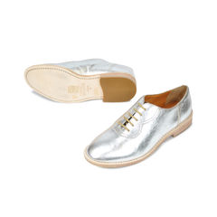 Marc jacobs silver lace ups 2
