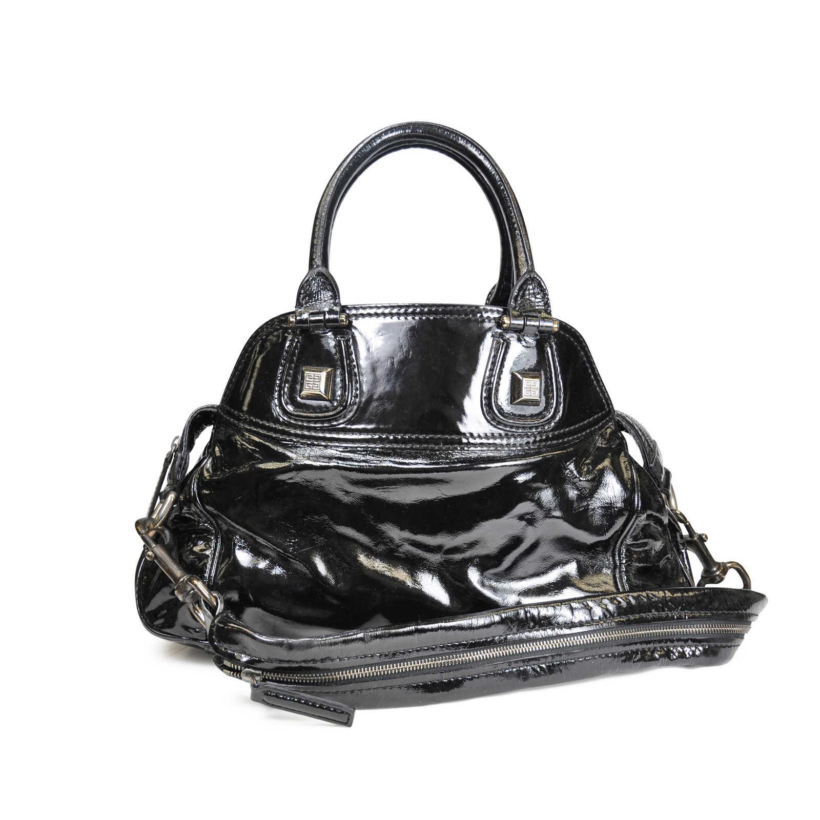 f1e59b527060 Givenchy Handbag Leather Lxrandco Pre Owned Luxury Vine