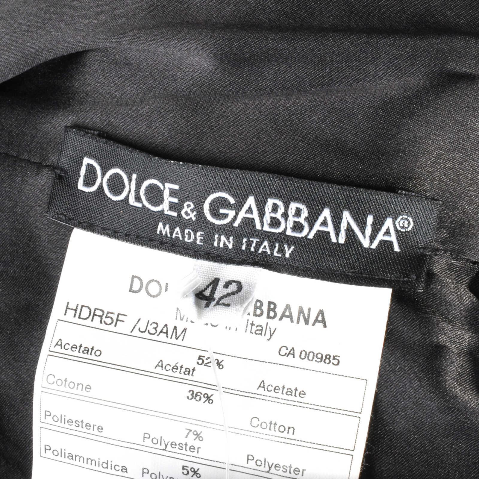 6aba6f0b380 ... Authentic Second Hand Dolce   Gabbana Lace Up Bustier Dress (PSS-111 -00003