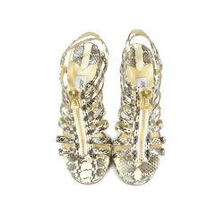Glenys Snakeskin Sandals
