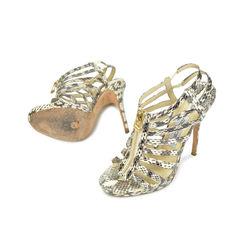 Jimmy choo python zipper heels 3