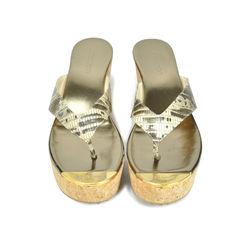 Lizard Platform Slippers