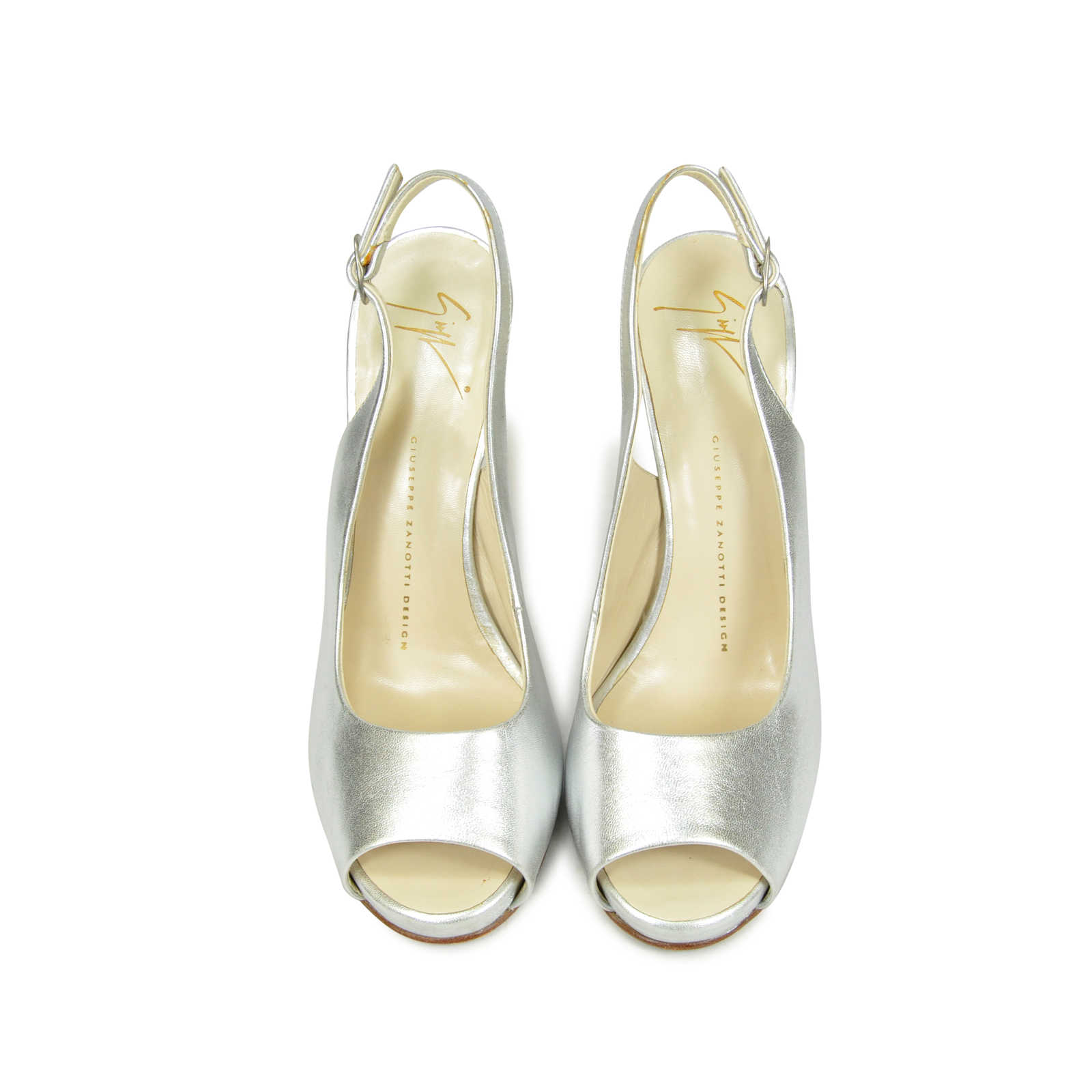 961af9fc3886 Authentic Second Hand Giuseppe Zanotti Mirror Wedges (PSS-097-00009) -  Thumbnail ...