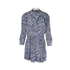 Printed Pleat Dress
