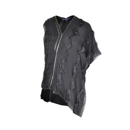 Authentic Second Hand Sharon Wauchob Zipper Silk Top (PSS-088-00020)