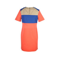 10 crosby derek lam red colour block dress 2