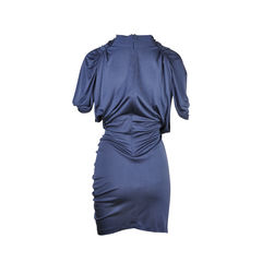 Cathrine malandrino navy v neck jersey dress 2