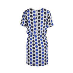 Marni blue polkadot dress 2