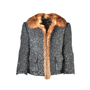 Dolce And Gabbana Fur Trimmed Sequinned Jacket - Thumbnail 0