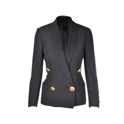 Authentic Second Hand Versace Buttoned Jacket (PSS-094-00012)