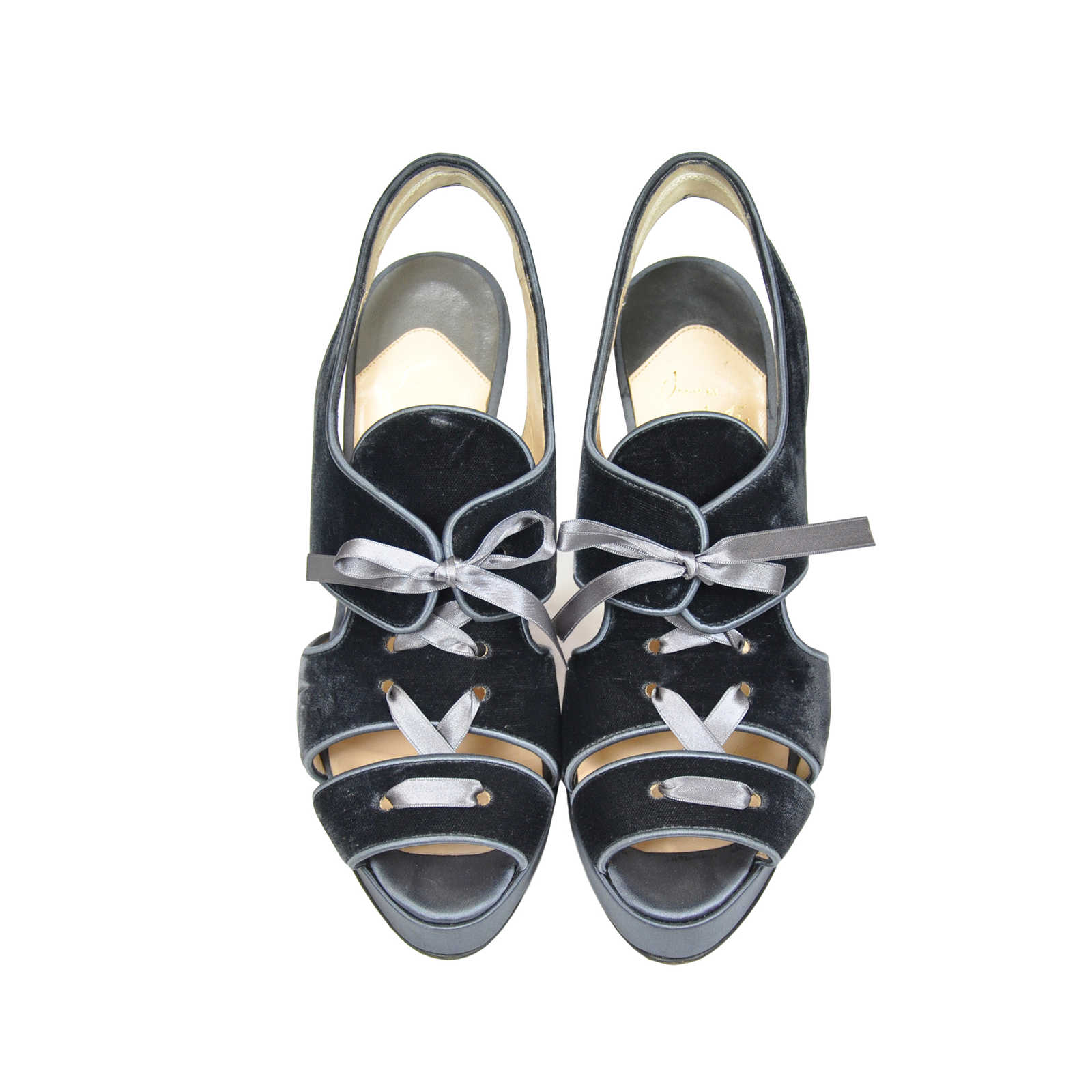 eb3540665c8 Authentic Second Hand Christian Louboutin Sarah B Sandals (PSS-073-00025)  ...